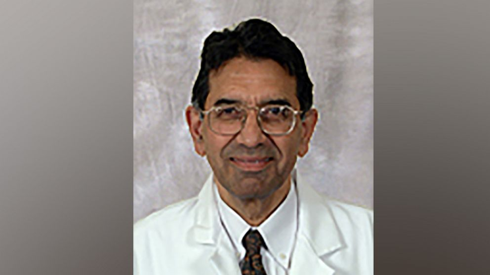 PHOTO: Dr. Rajendra Kapila, a professor at Rutgers New Jersey Medical School, died of COVID-19 on April 8, 2021.